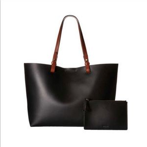 Fossil tote and wristlet